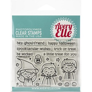 Peek-A-Boo Pals: Spooktacular Clear Stamp