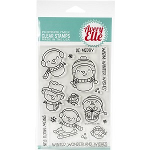 Snow Fun Clear Stamp