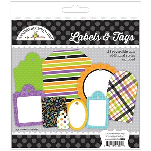 Boos & Brews, Candy Carnival Doodlebug Labels & Tags