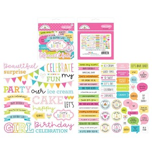 Hey Cupcake Doodlebug Odds & Ends Chit Chat Die-Cuts