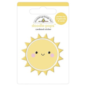 Fun In The Sun, Bar-B-Cute Doodlebug Doodle-Pops 3D Stickers