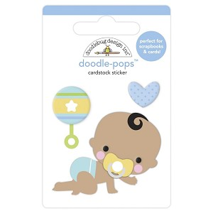 On The Move, Special Delivery Doodlebug Doodle-Pops 3D Stickers