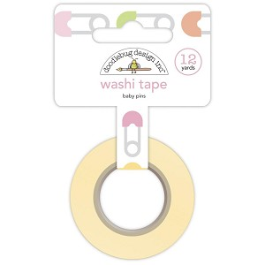 Baby Pins, Bundle Of Joy Doodlebug Washi Tape