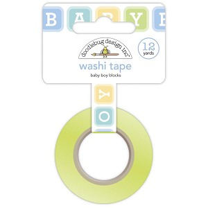 BOY BLOCKS-DOODLEBUG WASHI TAPE