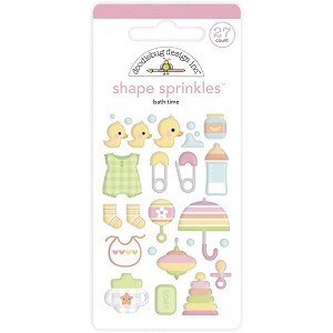 Bath Time, Bundle Of Joy Doodlebug Sprinkles Adhesive shapes