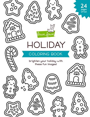 LF holiday coloring book