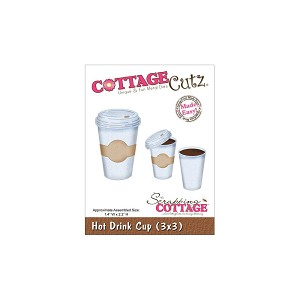 Hot Drink Cup Die from Cottage Cutz