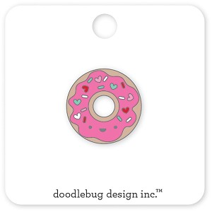 Donut Cream & Sugar Collectible Enamel Pin