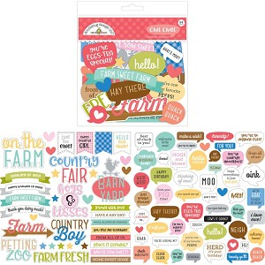Down On The Farm Chit Chat Die Cuts