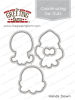 Hands Down - Die Cuts