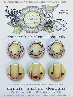 ALL WRITE - TIN PINS
