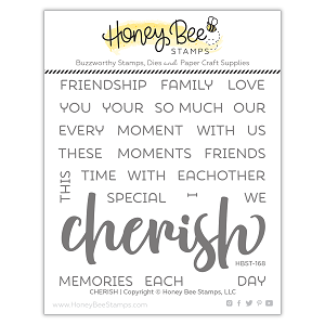 Cherish | 4x4 Stamp Set