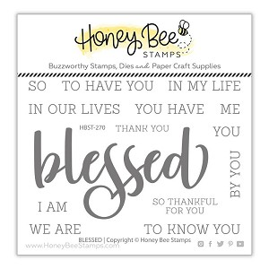 Blessed | 3x4 Stamp Set