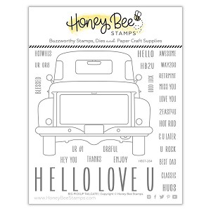 Big Pickup Tailgate | 6x6 Stamp Set