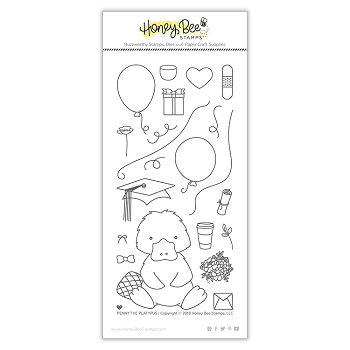 Penny The Platypus | 4x8 Stamp Set