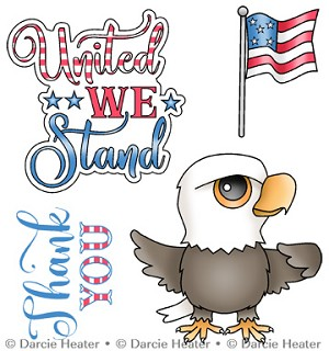 UNITED WE STAND - CLEAR STAMP