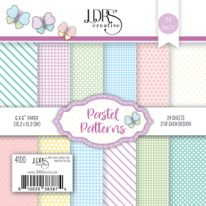 Basic Spring Pattern Paper Pack- 6x6