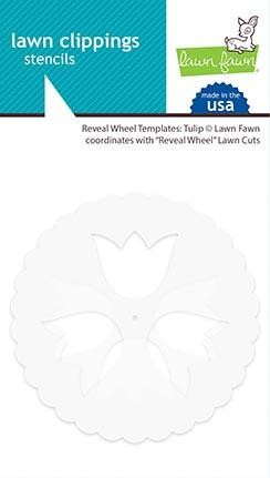 reveal wheel templates: tulip
