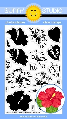 HAWAIIAN HIBISCUS STAMPS