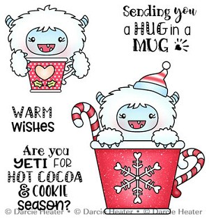 YETI FOR COCOA - CLEAR STAMP