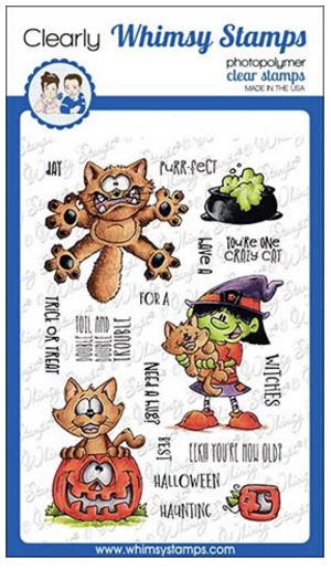 Going Catty Clear Stamps
