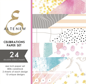 Celebrations 6x6 Paper Pack