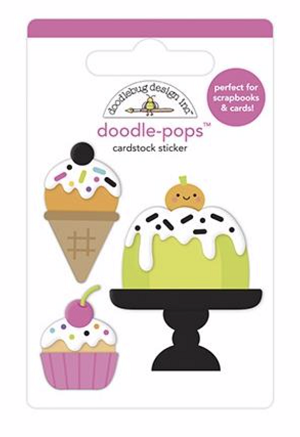 Cake & I-Scream DB Pops 3D Stickers