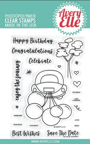Journey Avery Elle Clear Stamp & Die Bundle
