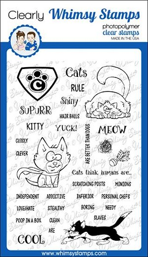 Super Cats Clear Stamps