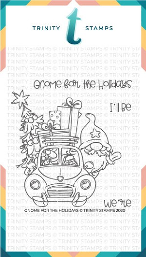 Gnome for the Holidays Stamp